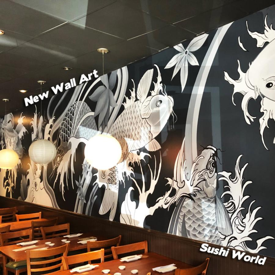 New Wall Art | Sushi World